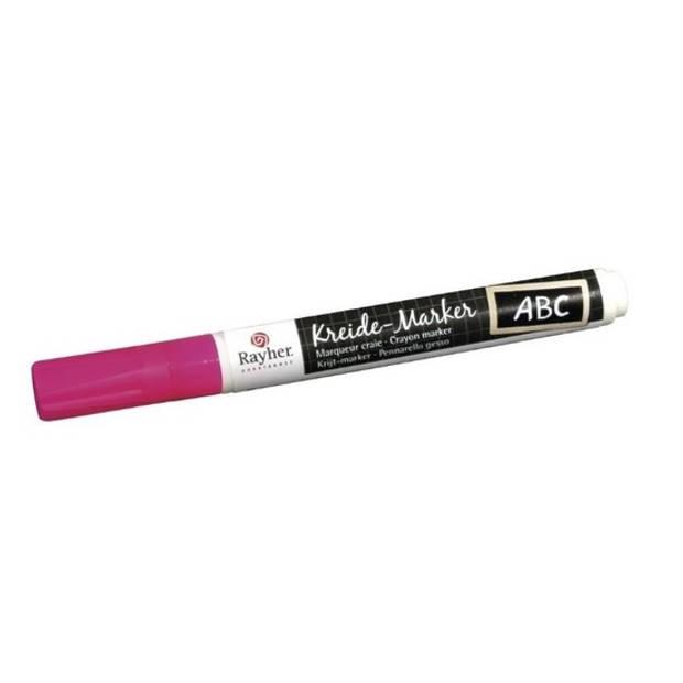Roze raamstift op waterbasis - Hobby viltstiften
