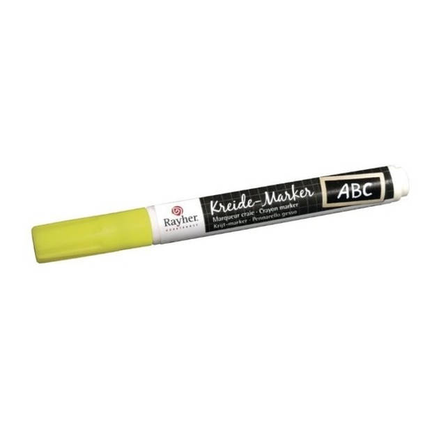 Gele raamstift op waterbasis - Hobby viltstiften