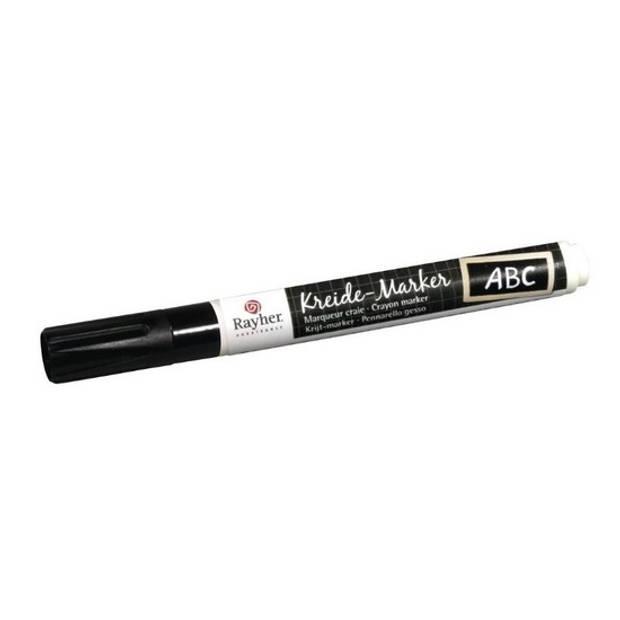 Zwarte raamstift op waterbasis - Hobby viltstiften