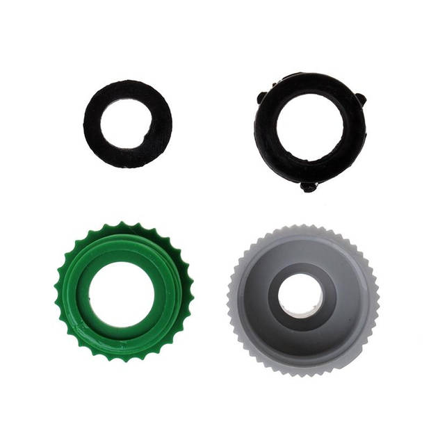 ProPlus Kraanverbindingsstuk 2 in 1 grijs/groen