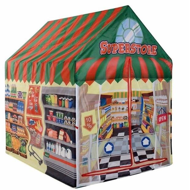 Speeltent/speelhuis supermarkt 102 cm