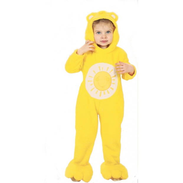 Troetelbeertjes kostuum geel voor peuters 98-104 (2-3 jaar) - Carnavalskostuums
