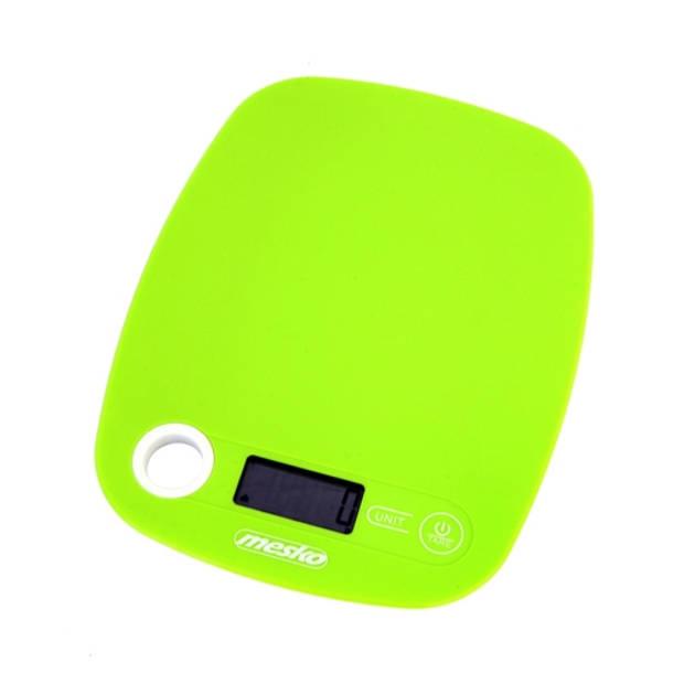 Mesko MS 3159g - Keukenweegschaal - groen