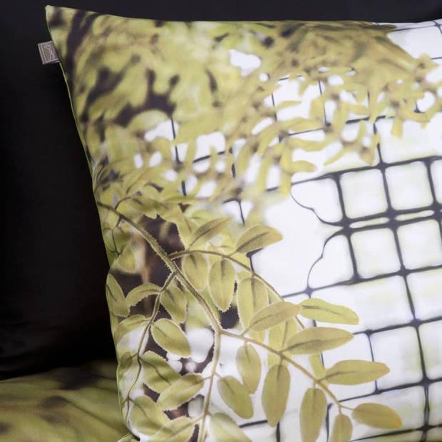 Suela Home Chanine dekbedovertrek - 100% katoen-satijn - Lits-jumeaux (240x200/220 cm + 2 slopen) - Multi