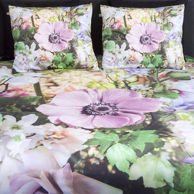Suela Home Beau dekbedovertrek - 100% katoen-satijn - Lits-jumeaux (240x200/220 cm + 2 slopen) - Multi