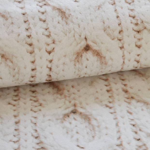 Snoozing Porto flanel dekbedovertrek - 2-persoons (200x200/220 cm + 2 slopen)