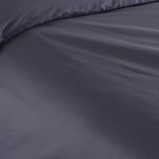 Snoozing Sven dekbedovertrek - Lits-jumeaux (270x200/220 cm + 2 slopen) - Katoen satijn - Blue