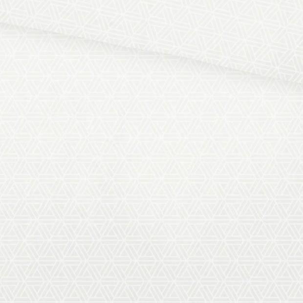 Snoozing Sky dekbedovertrek - Lits-jumeaux (270x200/220 cm + 2 slopen) - Katoen satijn - White
