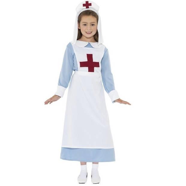 Ouderwets verpleegster kostuum voor meisjes 145-158 (10-12 jaar) - Carnavalsjurken