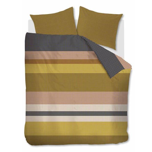 Beddinghouse Grid Stripe dekbedovertrek - 2-persoons (200x200/220 cm + 2 slopen)