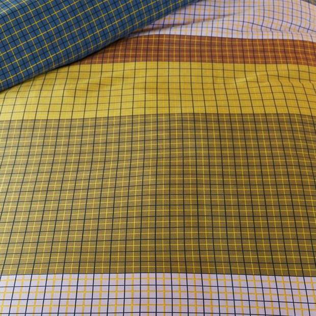 Beddinghouse Grid Stripe dekbedovertrek - 1-persoons (140x200/220 cm + 1 sloop)