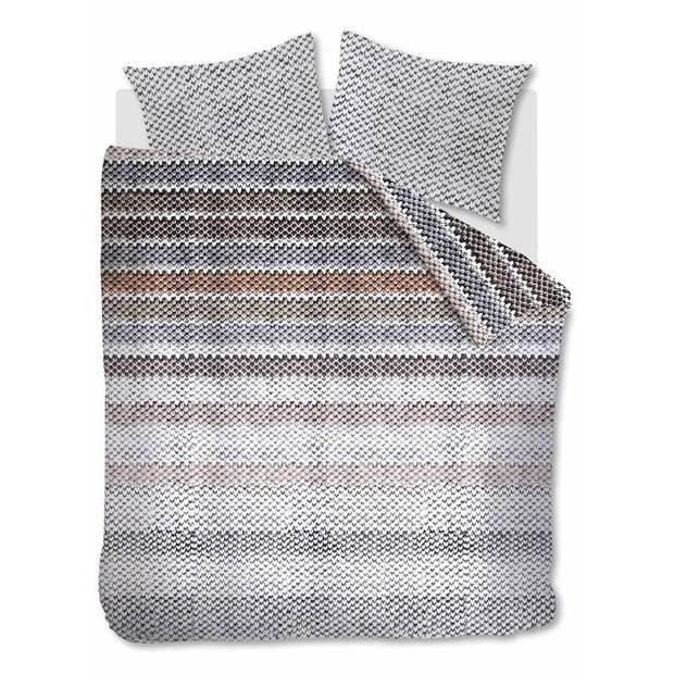 Beddinghouse Jarno flanel dekbedovertrek - 1-persoons (140x200/220 cm + 1 sloop)