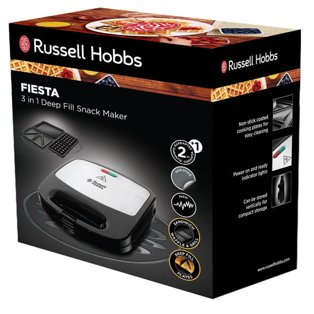 Russell Hobbs tosti-ijzer Refresh 3 in 1 Deep Fill 24520-56