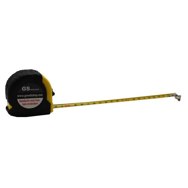 Rolbandmaat 3 meter x 16 mm - rolmeter - rolband - rolmaat