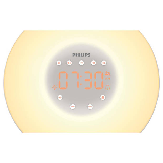 Philips Wake-up Light HF3506/05 - zilver