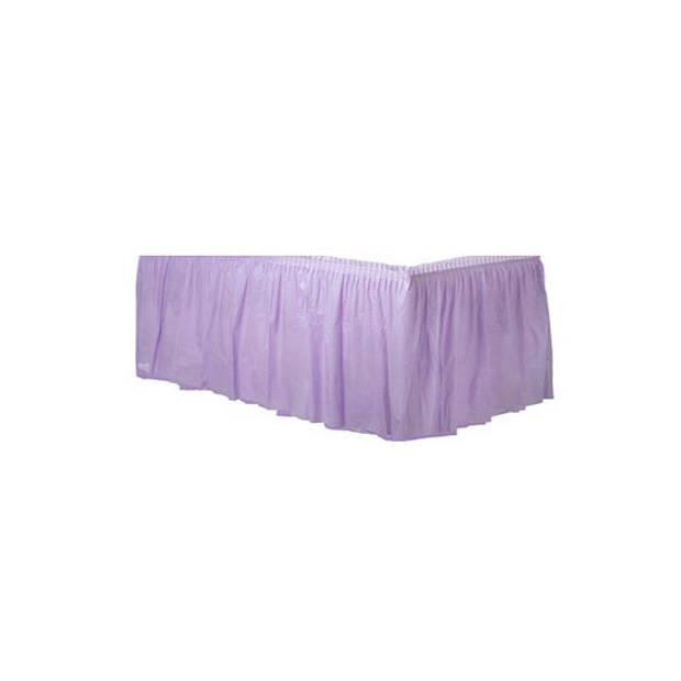 Lila paarse tafelrok - Feesttafelkleden