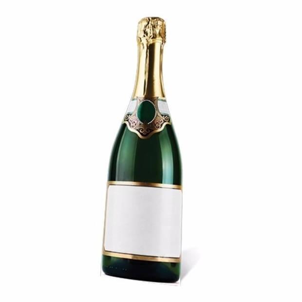Groot decoratie bord Champagne - Feestdecoratieborden