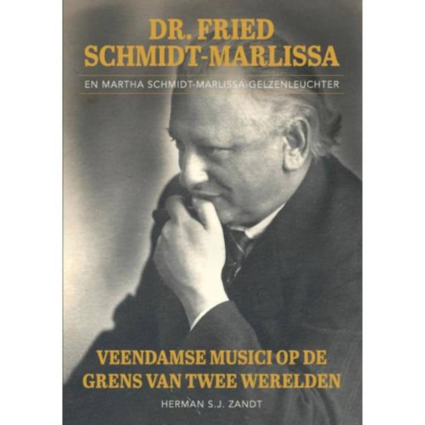 Dr. Fried Schmidt-Marlissa En Martha
