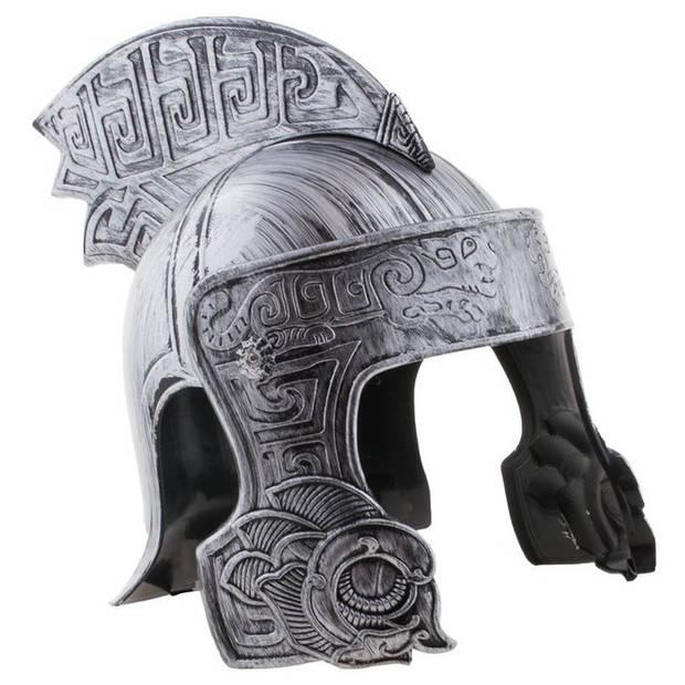 Ridder helm zilver voor volwassenen - Verkleedhoofddeksels