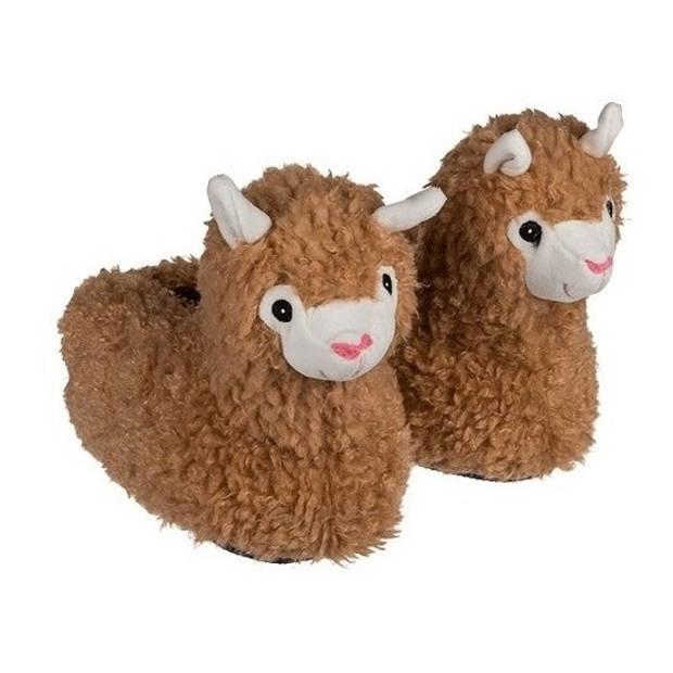 Alpaca/Lama pantoffels voor kinderen 31/32 - sloffen - kinderen