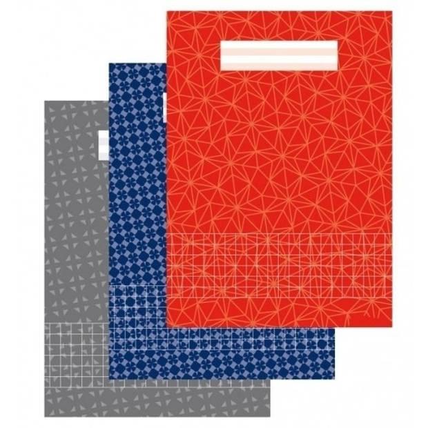 10 stuks A4 ruitjes schrift 10 mm 1x - Schriften