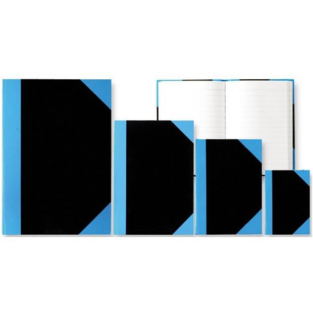 4x Luxe schriften zwart A4 formaat