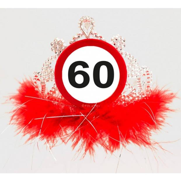 Tiara 60 jaar geworden - Verkleedhaardecoratie