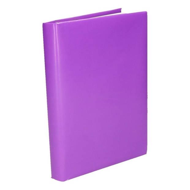 Kaftpapier schoolboeken paars 10 meter - Kaftpapier