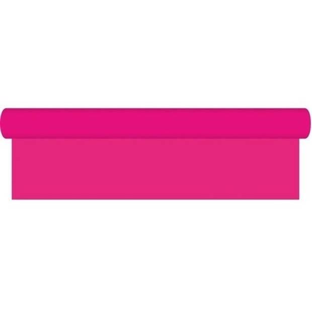 Kaftpapier schoolboeken roze 10 meter - Kaftpapier