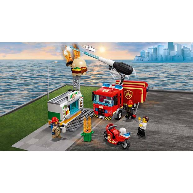LEGO City Brand bij het hamburgerrestaurant 60214