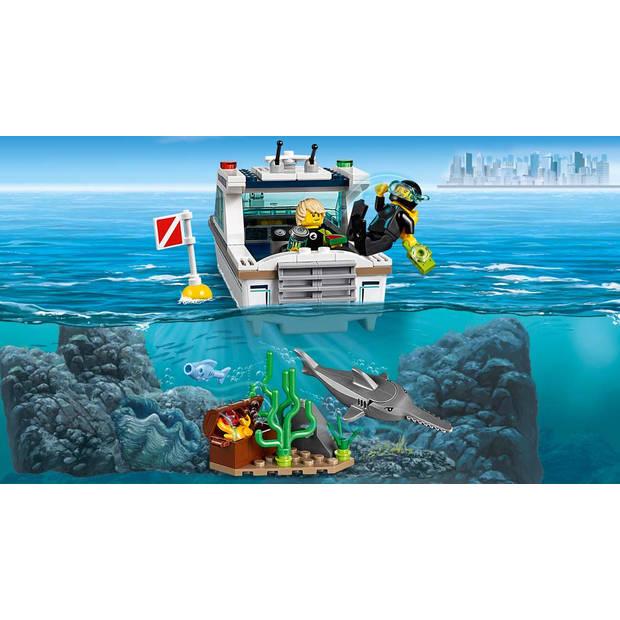 LEGO City Duikjacht 60221