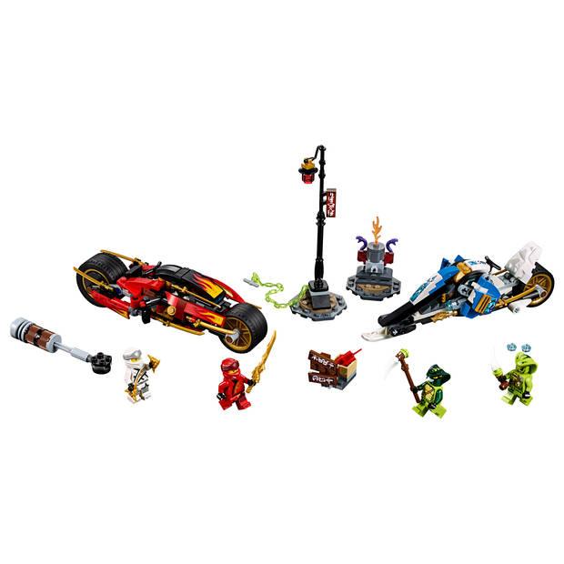 LEGO Ninjago Zwaardmotor van Kai & Sneeuwscooter van Zane 70667