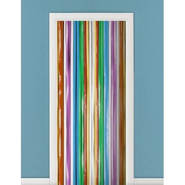 Vliegengordijnen/deurgordijnen multikleur 90 x 200 cm - Vliegengordijnen