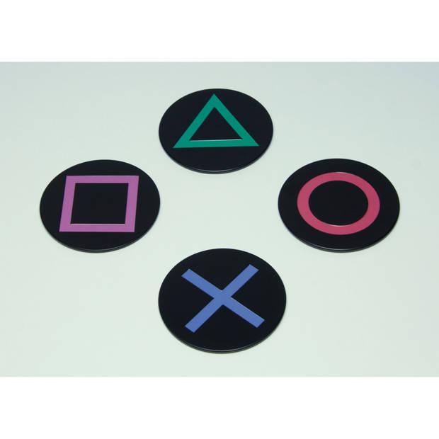 Playstation: Metal Coasters, 4 stuks