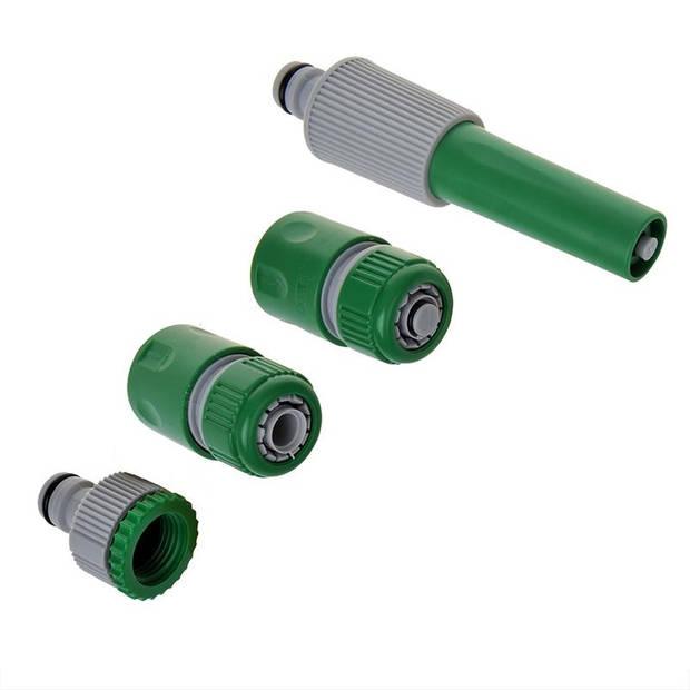 ProPlus Tuinspuitset voor tuinslang 4-delig groen