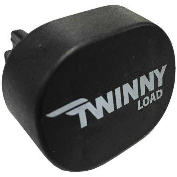 Twinny Load eindkap voor aluminium dakdragers zwart per stuk