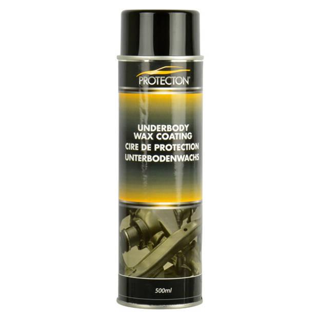 Protecton wax coating 500 ml aluminium zwart/geel