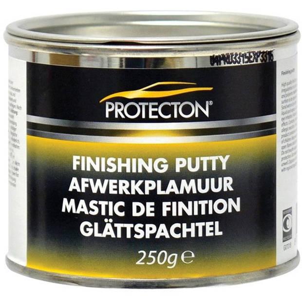 Protecton afwerkplamuur 7,6 x 6,2 cm RVS beige 250 gram