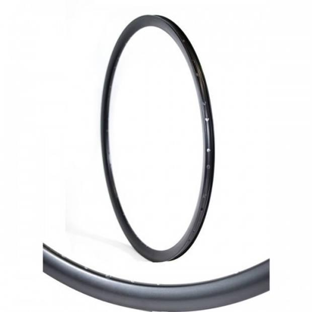 Gazelle velg hoog Dutch Black 28 inch 36G aluminium zwart