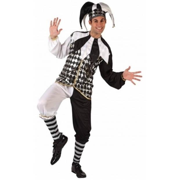 Harlekijn kostuum voor heren 52 (L) - Carnavalskostuums