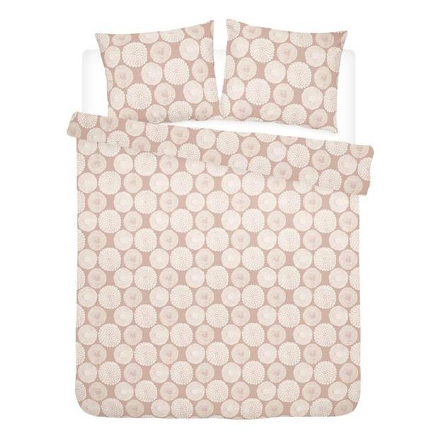 Cinderella Corsage dekbedovertrek - 100% percaline katoen - Lits-jumeaux (240x200/220 cm + 2 slopen) - Misty Rose