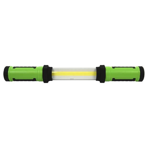 ProPlus uitschuifbare looplamp COB LED groen 58 cm