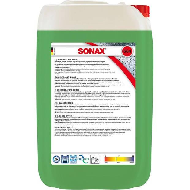 Sonax glansdroger 25 liter (664.705)