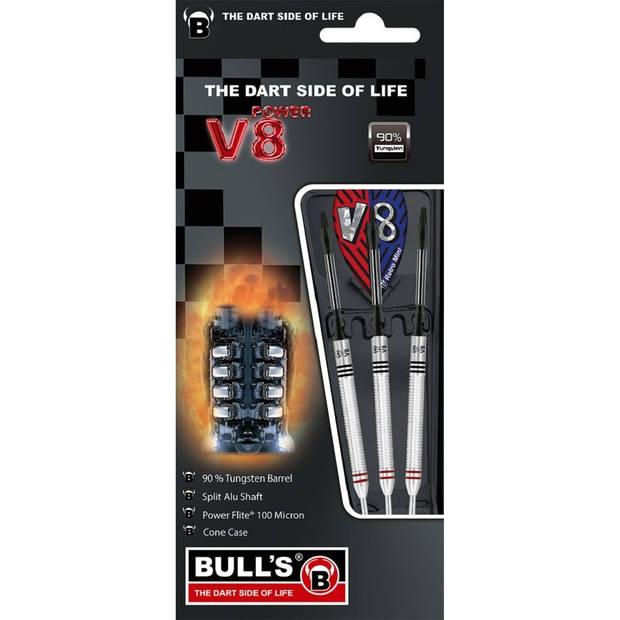 Bull's dartpijlen V8 V1 steeltip 90%