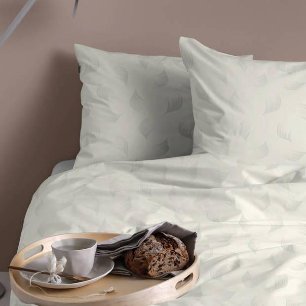 Damai Organic Whisper dekbedovertrek - Lits-jumeaux (240x200/220 cm + 2 slopen) - Katoen satijn - Milk