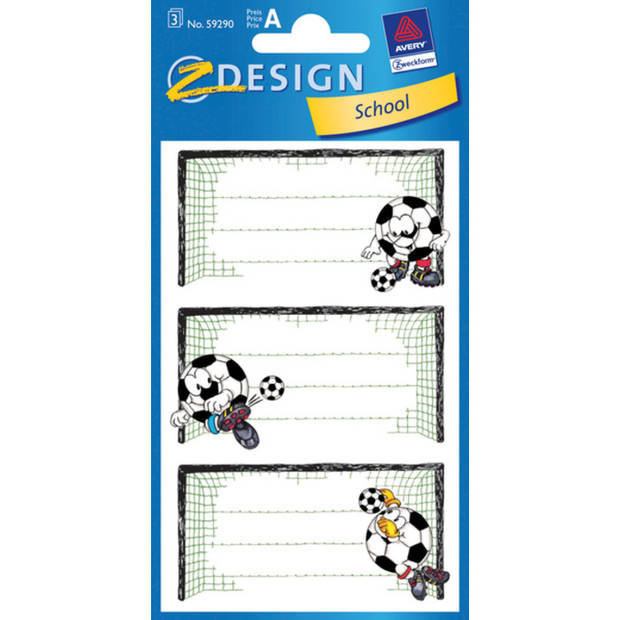 boeketiket Z-design School pakje a 3 vel voetbal