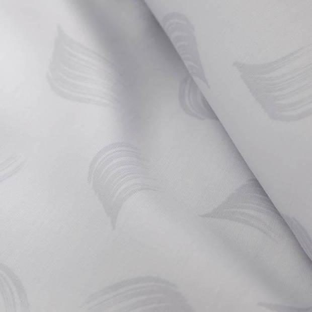 Damai Organic Whisper dekbedovertrek - Lits-jumeaux (240x200/220 cm + 2 slopen) - Katoen satijn - Glacier