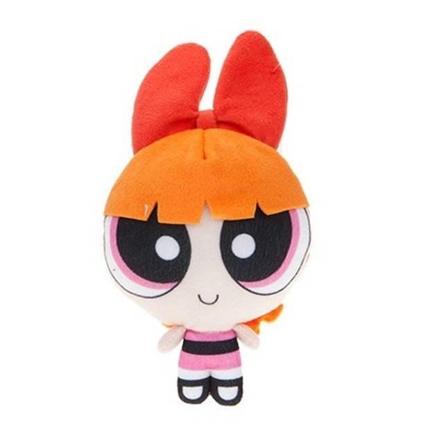 Kamparo pluchen knuffel Powerpuff Girls 25 cm oranje/roze