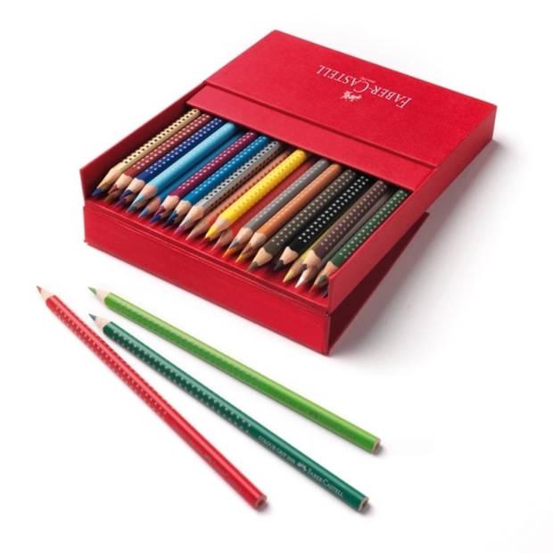 Kleurpotlood Faber-Castell GRIP studiobox a 36 stuks