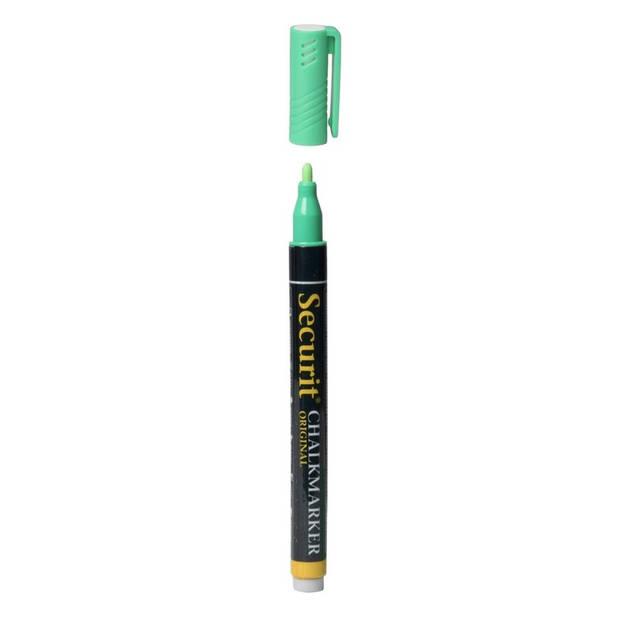 Groene krijtstift ronde punt 1-2 mm